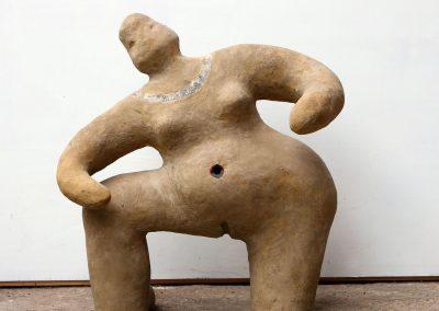 Vrouw met vulva